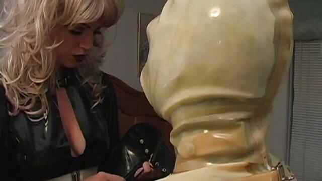 Fausse éjaculation sur meilleur film porno en francais latex salope